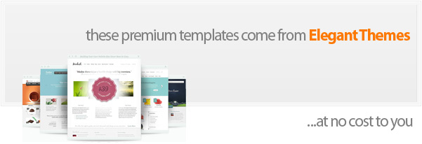 free premium templates from elegant themes