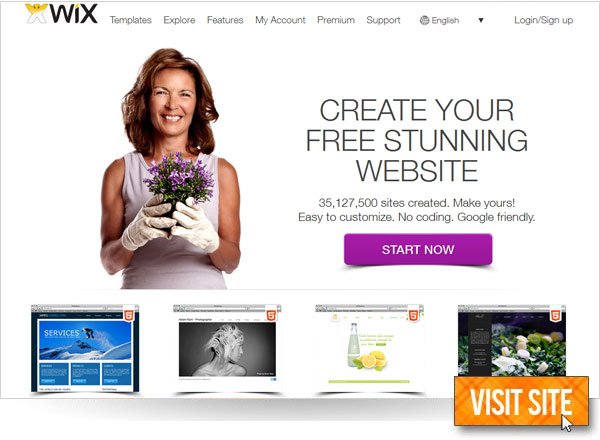 what are the best free website design sites