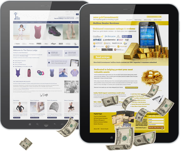 business in a box website from our ultimate package