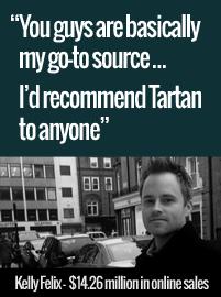 kelly felix tartan web design testimonial